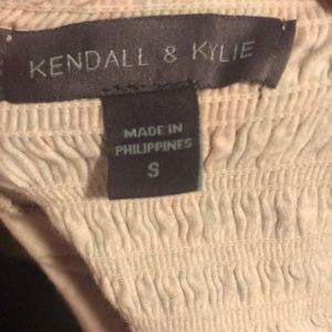 Kendall & Kylie Tops - Kendall & Kylie cropped tube top